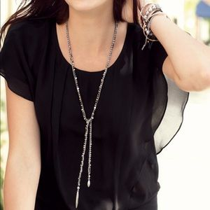 Stella & Dot- Zoe Lariat necklace